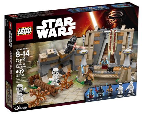 Конструктор Lego Star Wars: Битва на планете Такодана 409 элементов 75139