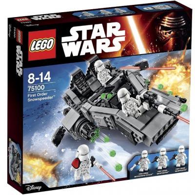 Конструктор Lego Star Wars: Снежный спидер Первого Ордена 444 элемента 75100