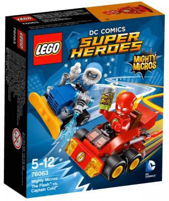 Конструктор Lego Super Heroes: Флэш против Капитана Холода 88 элементов 76063