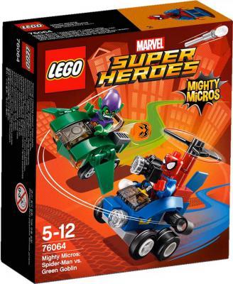 Конструктор Lego Супер Герои Человек паук против Зелёного Гоблина 85 элементов 76064
