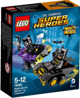 Конструктор Lego Супер Герои Бэтмен против Женщины кошки 79 элементов 76061