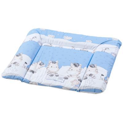 Купить Матрас для пеленания поролоновый 75 x 85 см Geuther 5835 097, голубой, Матрасики для пеленания