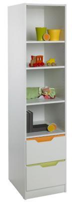Стеллаж Geuther Fresh (цветная панель) geuther шкаф трехстворчатый geuther fresh