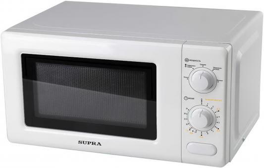 СВЧ Supra MWS-2125MW 700 Вт белый  supra mws 1805 mw