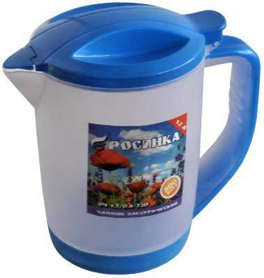Чайник Росинка ЭЧ-1,2/0,8-220 800 Вт голубой 1.2 л пластик