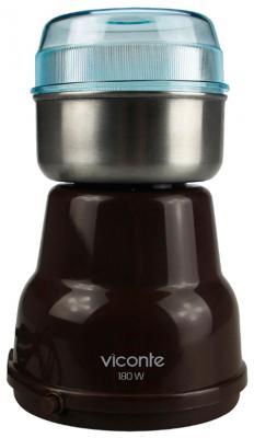 Кофемолка Viconte VC-3103 180 Вт коричневый блендер погружной viconte vc 4407 200вт бежевый