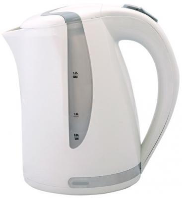 Чайник Smile WK 5118 2000 Вт белый серый 1.7 л пластик чайник smile wk5306 2000 вт 1 7 л пластик белый