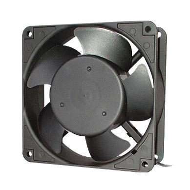 Вентилятор Hyperline KL-FAN-120x120x38-AC220-B28 120x120x38mm подшипник разъем под шнур new original ebmpapst 4212nh dc 12v 400ma 4 8w 120x120x38mm dc cooling fan