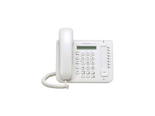 Телефон Panasonic KX-DT521RU белый системный цифровой телефон panasonic kx dt521ru black