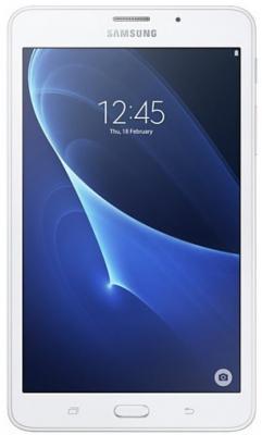 Планшет Samsung Galaxy Tab A 6 7 8Gb белый Wi-Fi Bluetooth LTE 3G Android SM-T285NZWASER планшетный пк samsung galaxy tab a 7 0 sm t285 8gb серебристый sm t285nzsaser
