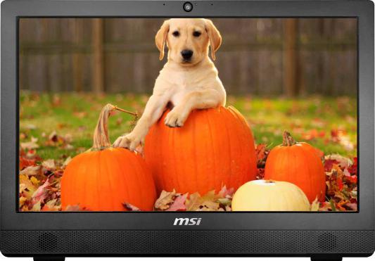 "Моноблок 23.6"" MSI Pro 24 2M-021RU 1920 x 1080 Multi Touch Intel Pentium-G3250 4Gb 500Gb Intel HD Graphics 64 Мб Windows 10 Home черный 9S6-AE9111-021"