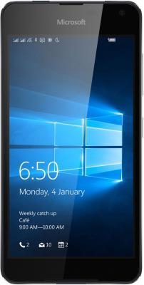 "Смартфон Microsoft Lumia 650 Dual SIM черный 5"" 16 Гб NFC LTE Wi-Fi GPS A00027270"