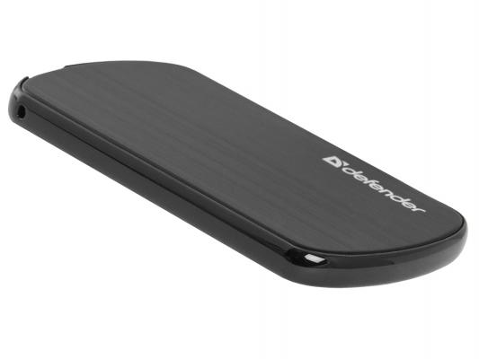 Портативное зарядное устройство Defender ExtraLife Terra 1650 5V/1A USB 1650 mAh черный 83621
