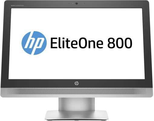 "Моноблок 23"" HP EliteOne 800 G2 1920 x 1080 Multi Touch Intel Core i3-6100 4Gb 1Tb + 8 SSD Intel HD Graphics 530 64 Мб Windows 10 Professional черный серебристый T4K11EA"