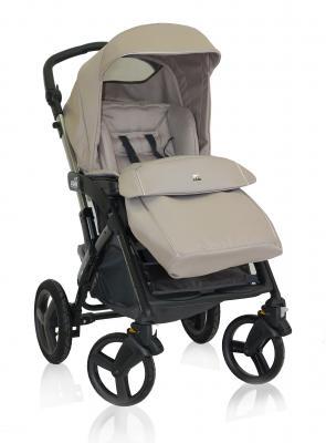 Прогулочная коляска Cam Dinamico 4S (цвет 180/темный крем с серебристой окантовкой)