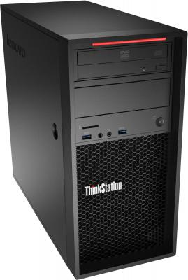 Системный блок Lenovo ThinkStation P310 TWR E3-1245V5 3.5GHz 8Gb 256Gb DVD-RW Win10Pro клавиатура мышь черный 30AT003PRU