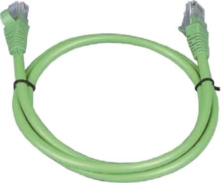 Патч-корд UTP 5е категории 2м ITK PC02-C5EU-2M зеленый