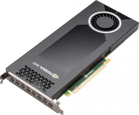 Видеокарта 4096Mb PNY NVS 810 PCI-E 8xminiDP DVI VCNVS810DVI-PB Retail