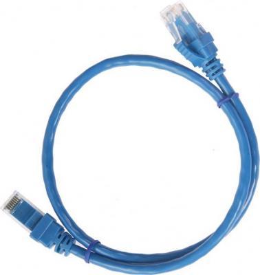 Патч-корд 5E категории Aopen ANP511 UTP 1м синий