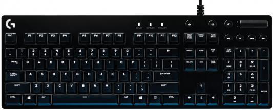 Клавиатура Logitech G610 ORION Brown Backlit USB черный 920-007865