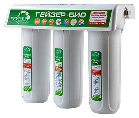 Фильтр Гейзер Био 341 для очистки  воды с повышенным содержанием железа 18050