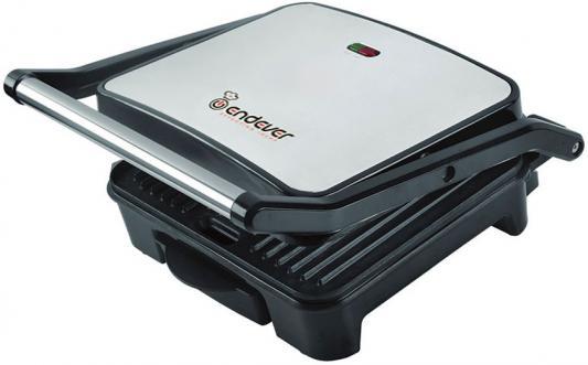 Электрогриль ENDEVER Grillmaster 117 серебристый чёрный электрогриль endever grillmaster 230