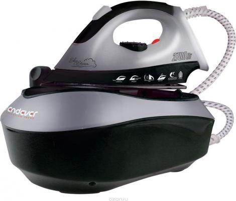Парогенератор Endever Skysteam-733 2700Вт 0.85л серебристо-черный