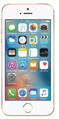 """Смартфон Apple iPhone SE золотистый 4"""" 16 Гб NFC LTE Wi-Fi GPS MLXM2RU/A"""