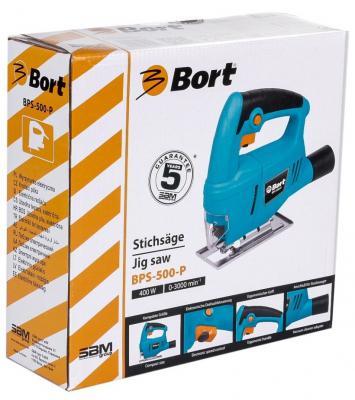 Лобзик Bort BPS-500-P 550Вт 93720315  лобзик электрический bort bps 500 p