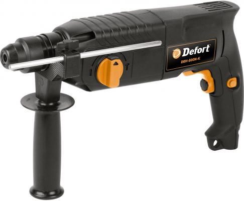 Перфоратор SDS Plus Defort DRH-800N-K 800Вт 93720360