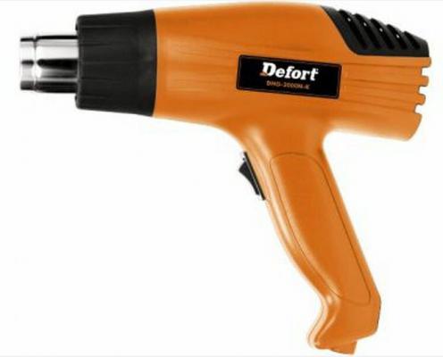 Фен технический Defort DHG-2000N-K 2000Вт 93720490