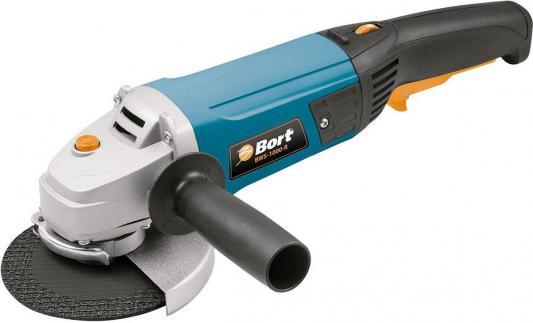 Углошлифовальная машина BORT BWS-1000-R 125 мм 900 Вт углошлифовальная машина bort bws 920 125 125 мм 900 вт