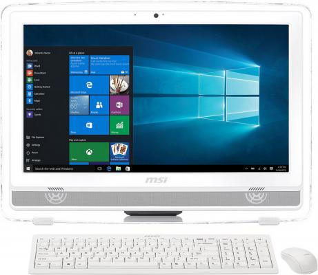 "Моноблок 22"" MSI Pro 22ET 4BW-009RU 1920 x 1080 Multi Touch Intel Pentium-N3700 4Gb 500Gb Intel HD Graphics 64 Мб Windows 10 Home белый 9S6-AC1612-009"
