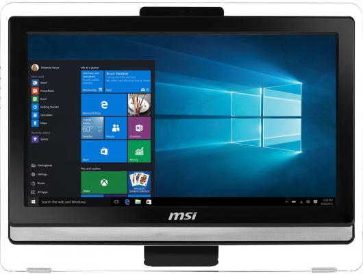 "Моноблок 19"" MSI Pro 20ET 4BW-013RU 1600 x 900 Multi Touch Intel Pentium-N3700 4Gb 500Gb Intel HD Graphics Windows 10 черный 9S6-AA8B11-013 9S6-AA8B12-016"
