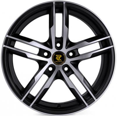 Диск RepliKey RK9548 7xR17 5x112 мм ET43 DBF Ssang Yong Action New диск replikey hyundai ix35 rk9548 7xr17 5x114 3 мм et45 dbf