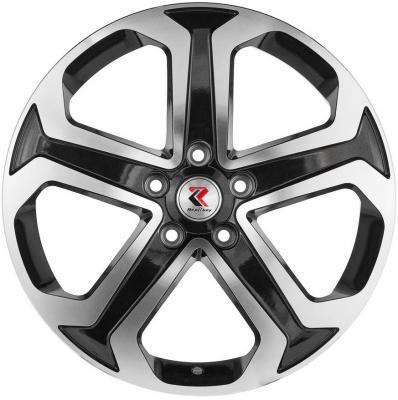 Диск RepliKey RK L30A 6.5xR17 5x114.3 мм ET45 BKF Suzuki Grand Vitara