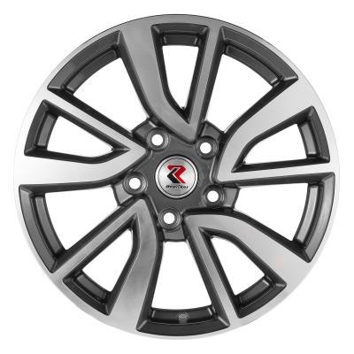Диск RepliKey Nissan Juke RK L30F 7xR17 5x114.3 мм ET47 GMF защита nissan juke 2011 1 6 картера и кпп штамповка