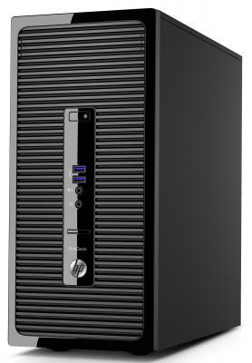 Системный блок HP ProDesk 400 G3 i3-6100 3.7GHz 4Gb 1Tb HD530 DVD-RW Win7Pro клавиатура мышь черный + монитор V212a T9T34ES