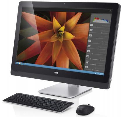 "Моноблок 27"" DELL XPS One 2720 2560 x 1440 Multi Touch Intel Core i5-4460S 8Gb 1Tb + 64 SSD nVidia GeForce GT 750M 2048 Мб Windows 10 Professional серебристый 2720-0011"
