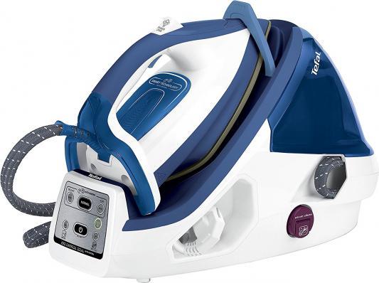 где купить Парогенератор Tefal GV8931E0 2400Вт белый синий по лучшей цене