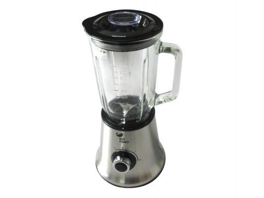 Блендер стационарный KITFORT КТ-1307 450Вт чёрный серебристый