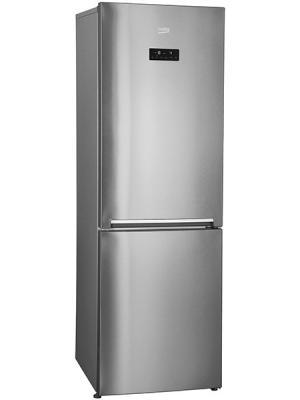 Холодильник Beko RCNK400E20ZGR серебристый встраиваемый холодильник beko bu 1100 hca