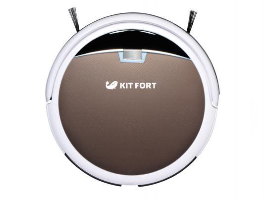 Робот-пылесос KITFORT КТ-519-4 24Вт бело-коричневый