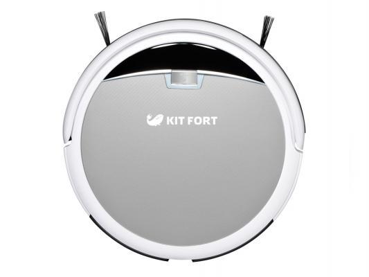 Робот-пылесос KITFORT КТ-519-2 24Вт бело-серый