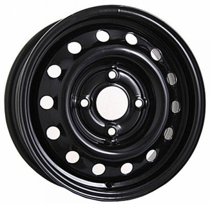 Диск Magnetto Skoda Octavia 15004 AM 6xR15 5x112 мм ET43 Black штампованный диск magnetto wheels toyota corolla 6 5 r16 5x114 3 d60 1 et45 black