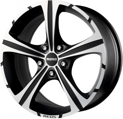 Диск MOMO Reds Black Knight 7xR16 4x108 мм ET18 Matt Black-Polshed WBKB70618408