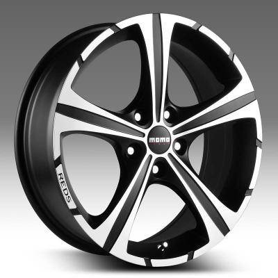 Диск MOMO Reds Black Knight 7xR16 4x108 мм ET25 Matt Black-Polshed WBKB70625408