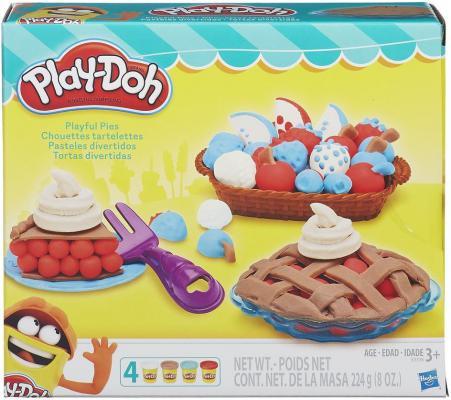 Набор для лепки Hasbro PLAY-DOH Ягодные тарталетки от 3 лет B3398