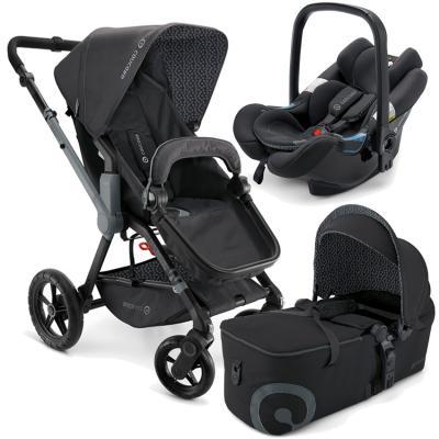 Коляска 3-в-1 Concord Wanderer Mobility Set (raven black)