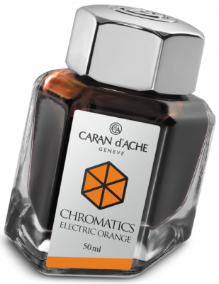 Флакон с чернилами Carandache Chromatics Electric Orange чернила оранжевый 50мл 8011.052
